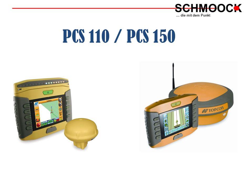 PCS 110 / PCS 150 SCHMOOCK … die mit dem Punkt