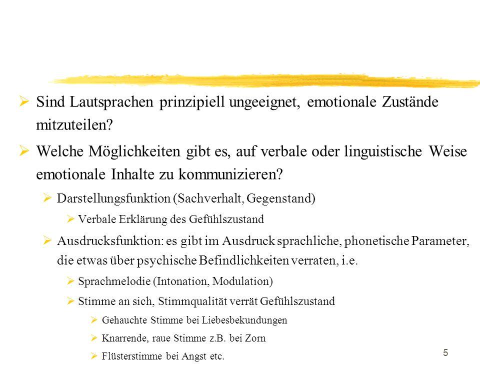 6 Organon-Modell von Karl Bühler Pionier des Fachbereichs Linguistik.