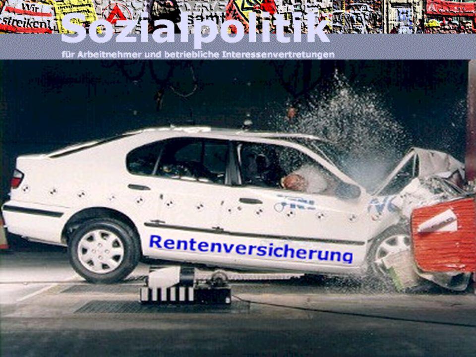 www.arbeitnehmerkammer.de/sozialpolitikFebruar 2007 20002030 Nettorenten- niveau* Sicherungs- niveau vor Steuern* 70% 61% 55% 53%41% * 2030: Nettorent