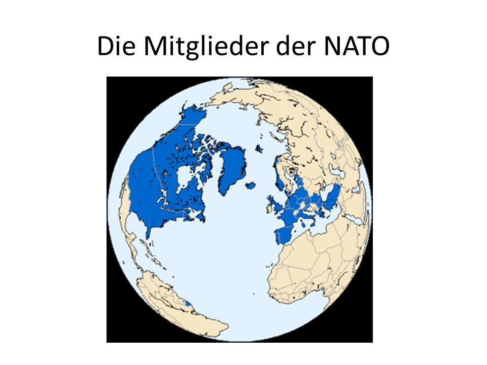Die Mitglieder der NATO