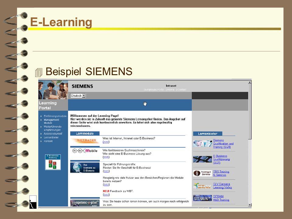 Reinhard Rößler E-Learning 4 Einsatz von E-Learning Anwendungen