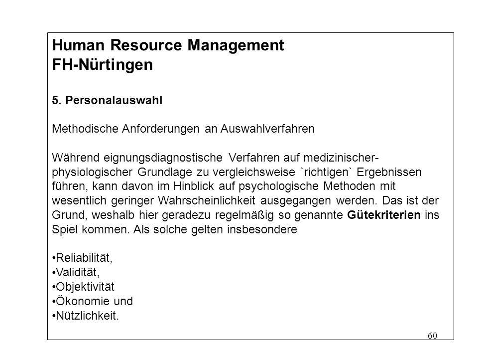 60 Human Resource Management FH-Nürtingen 5.
