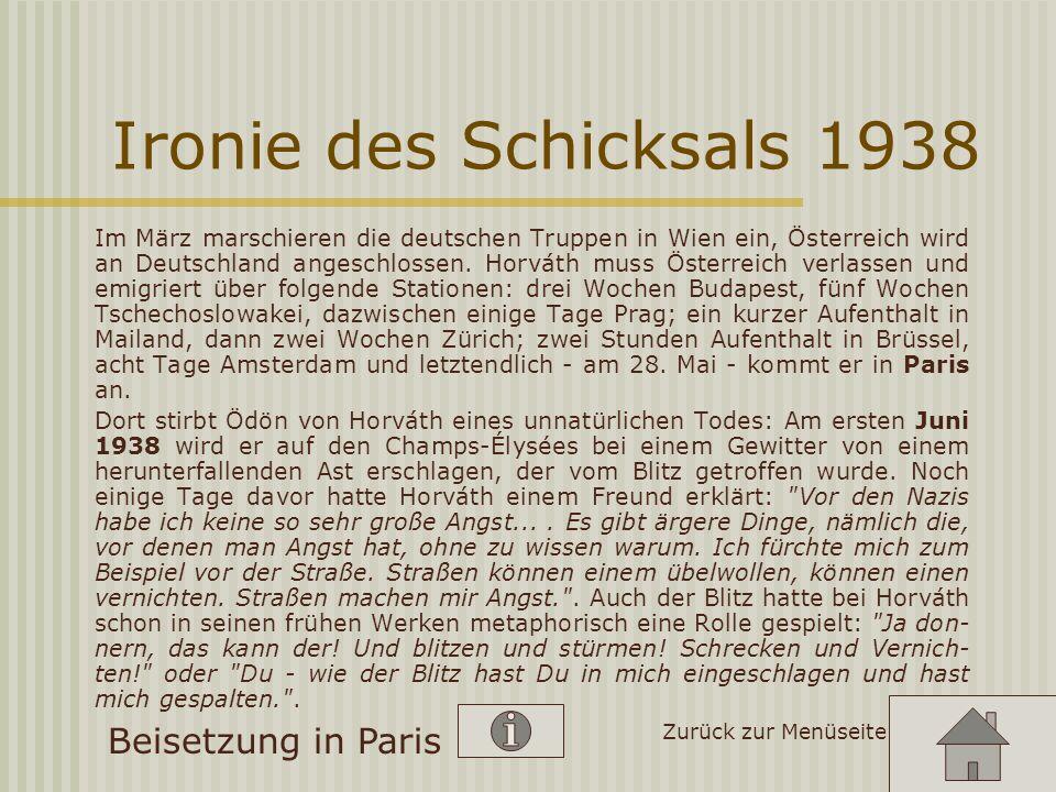 Emigration und Tod 1938 Nach dem