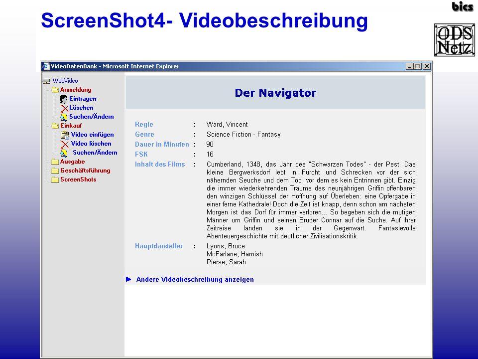 ScreenShot5- SQL-Formular