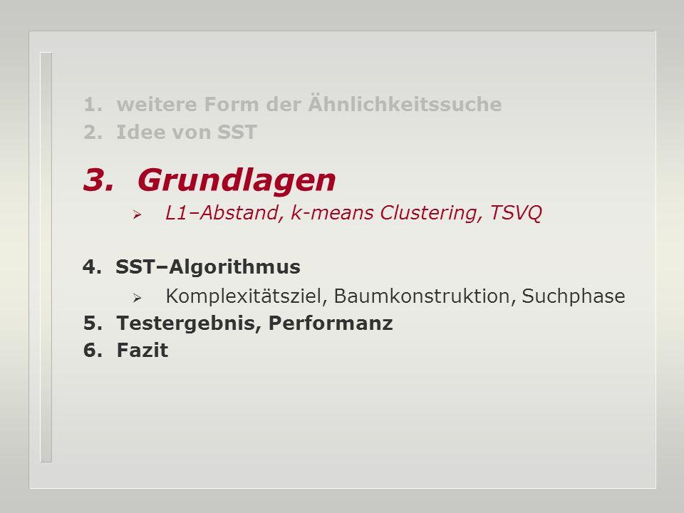 15.07.2005 SST – Sequence Search Tree 19 DB-Partionierung am Beispiel A A C C G G T T A C G T A C G T Fensterlänge W = 6 Überlappungen = 2 j Start Ende 0 0 5 1 2 7 2 4 9 0 1 2 3 4 5 6 7 8 9 0 1 2 3 4 5