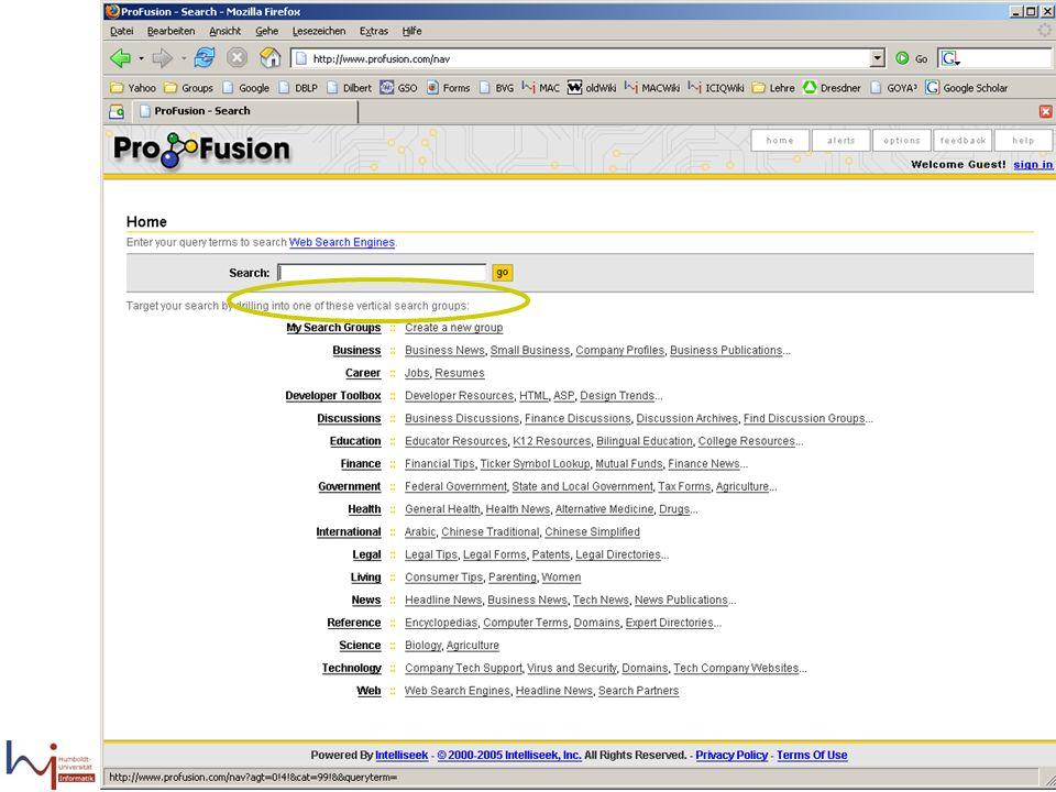 09.02.2006Felix Naumann, VL Informationsintegration, WS 05/0624