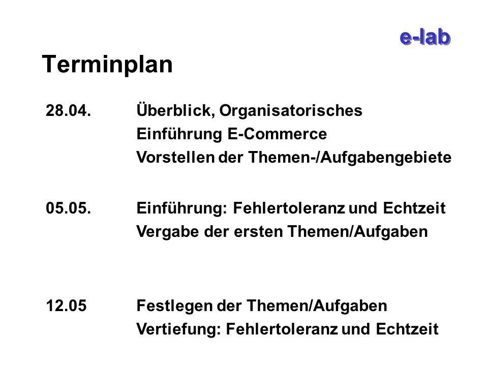 e-lab IBM Autumn School vom 2.10.