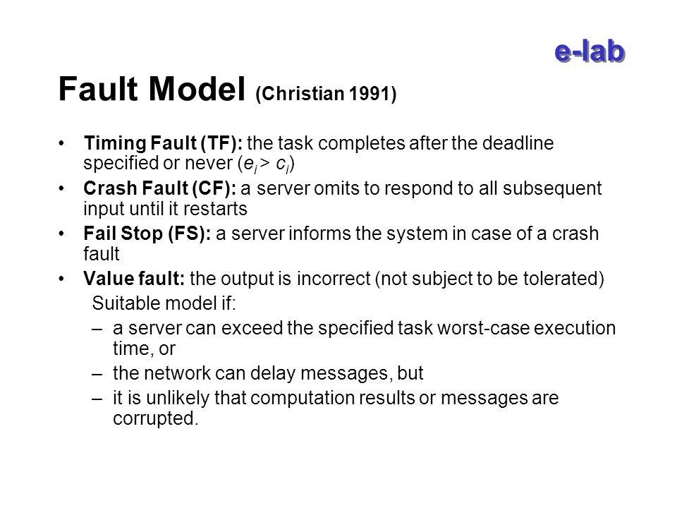 e-lab Themen (2) Middleware –Clustering/Lastballancierung - Middleware Lösungen für Commodity (Massenware) Cluster –Echtzeit – Lastanalysen, Bearbeitung der Anfragen nach Prioritäten bzw.