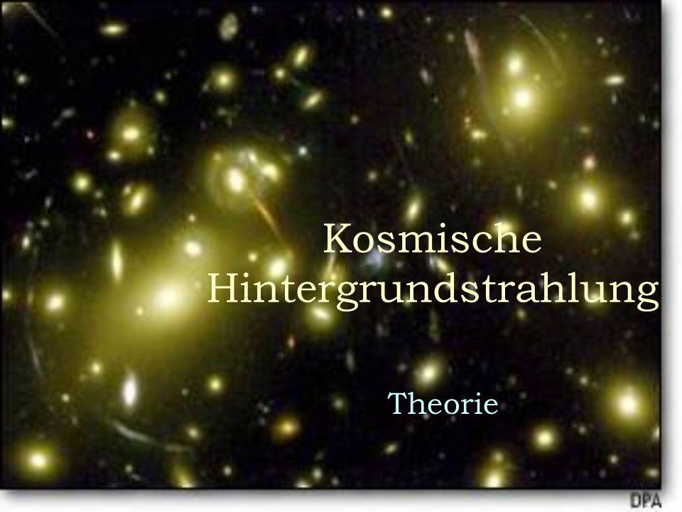 Kosmische Hintergrundstrahlung Theorie