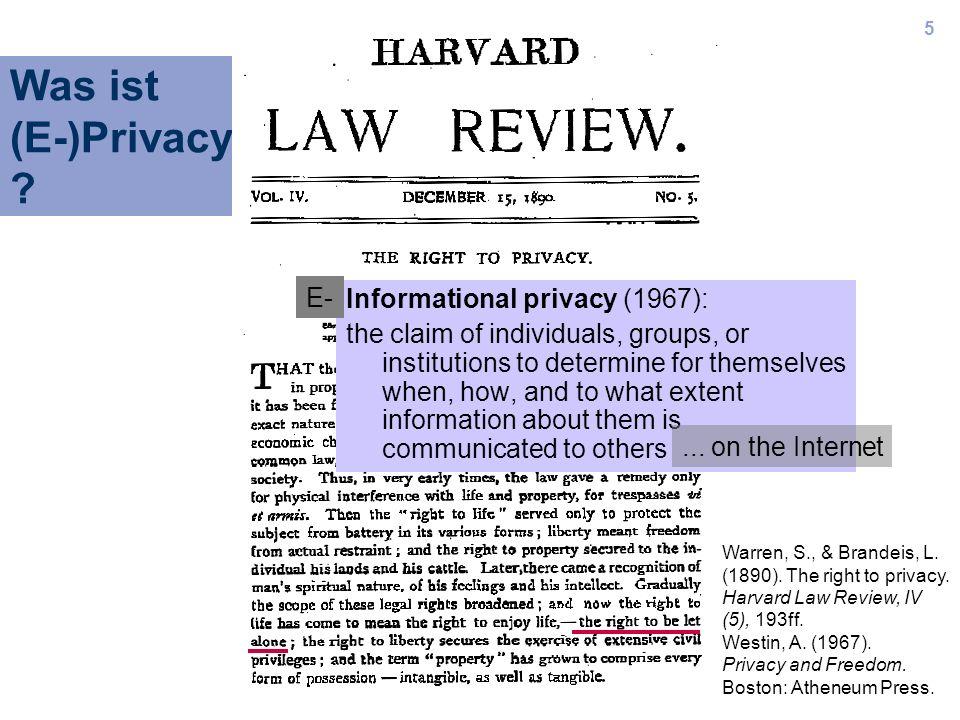 16 Empfehlungen IWA/Privacy: Methode Erg.: Einstellungen Erg.: Verhalten Interpretation