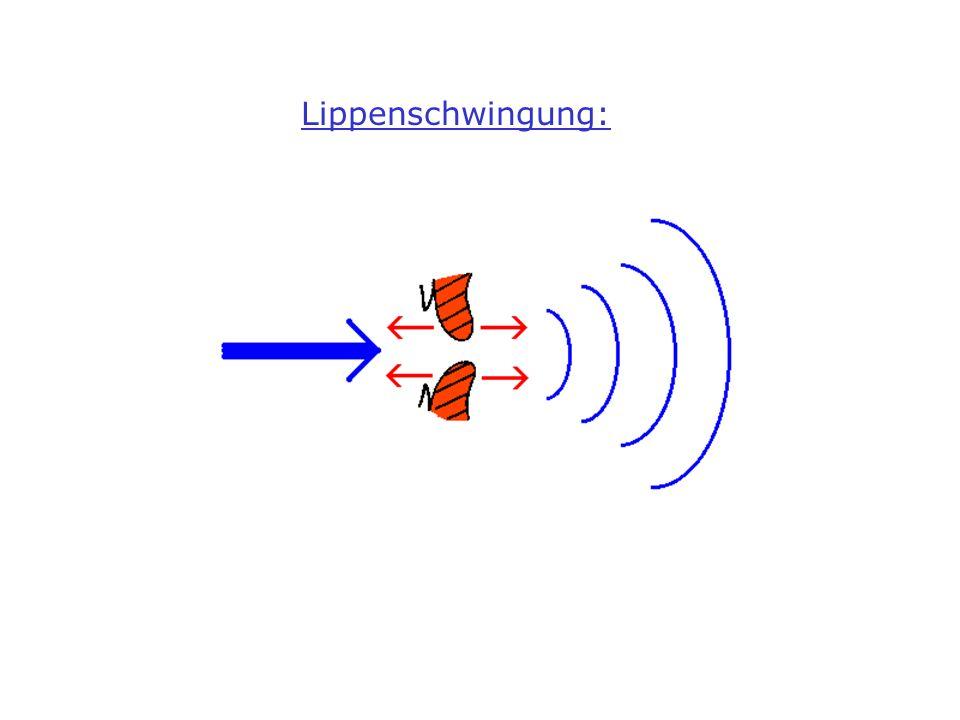 Lippenschwingung: