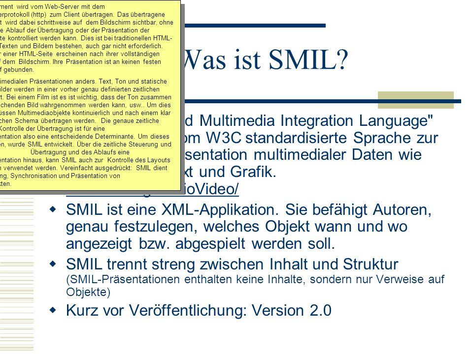 Was ist SMIL? Die