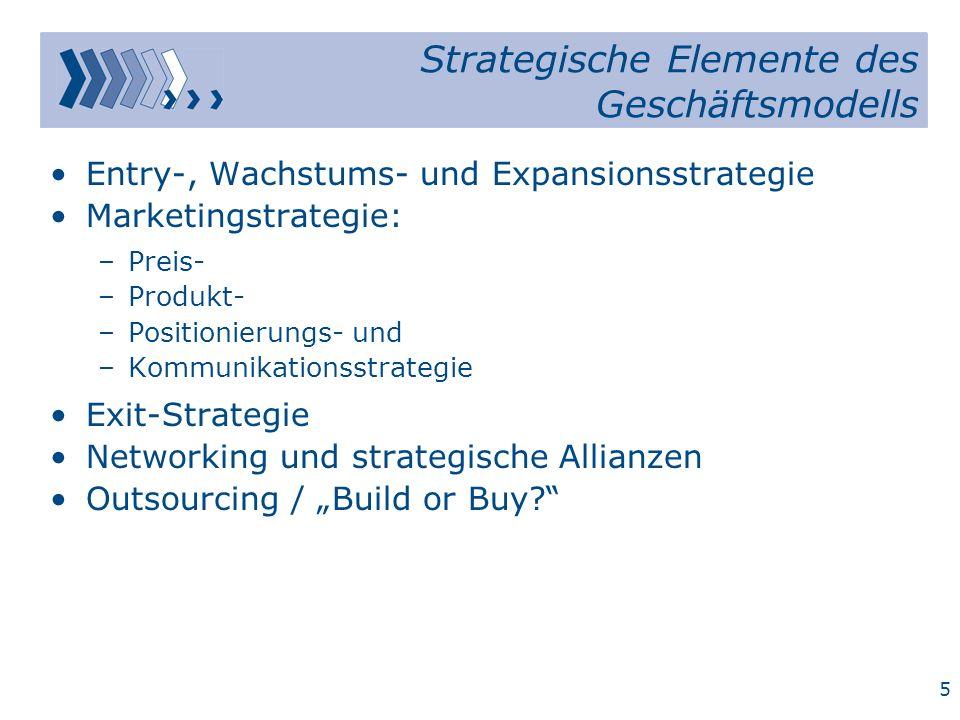 4 Die drei klassischen Strategien nach Michael E.