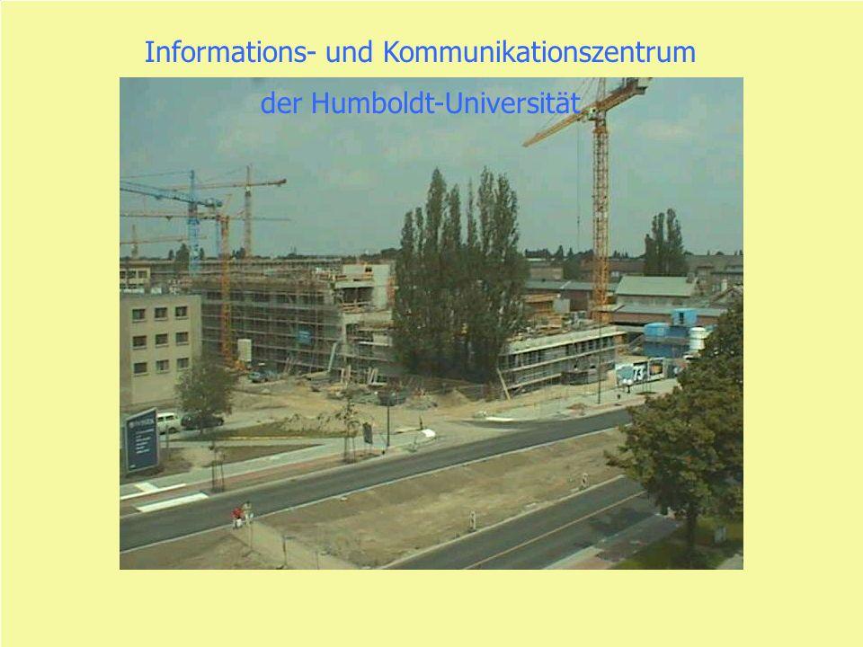 Dr. P. Schirmbacher 14.11.2001 Informations- und Kommunikationszentrum der Humboldt-Universität
