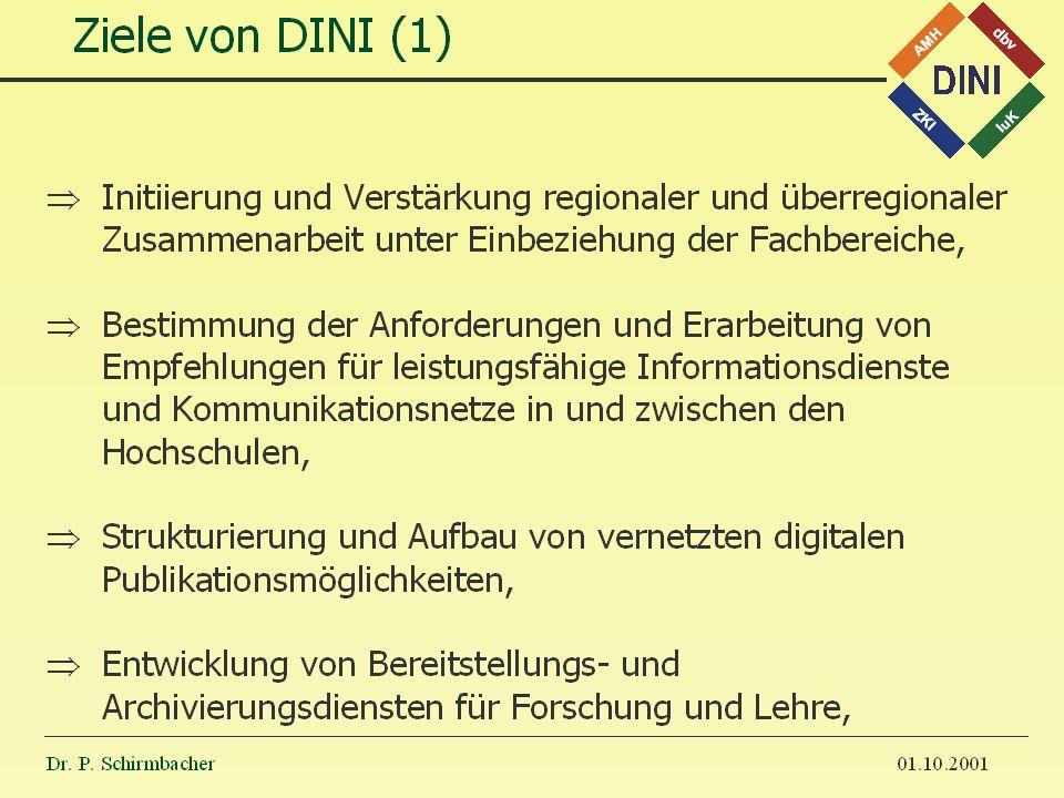 Dr. P. Schirmbacher 14.11.2001