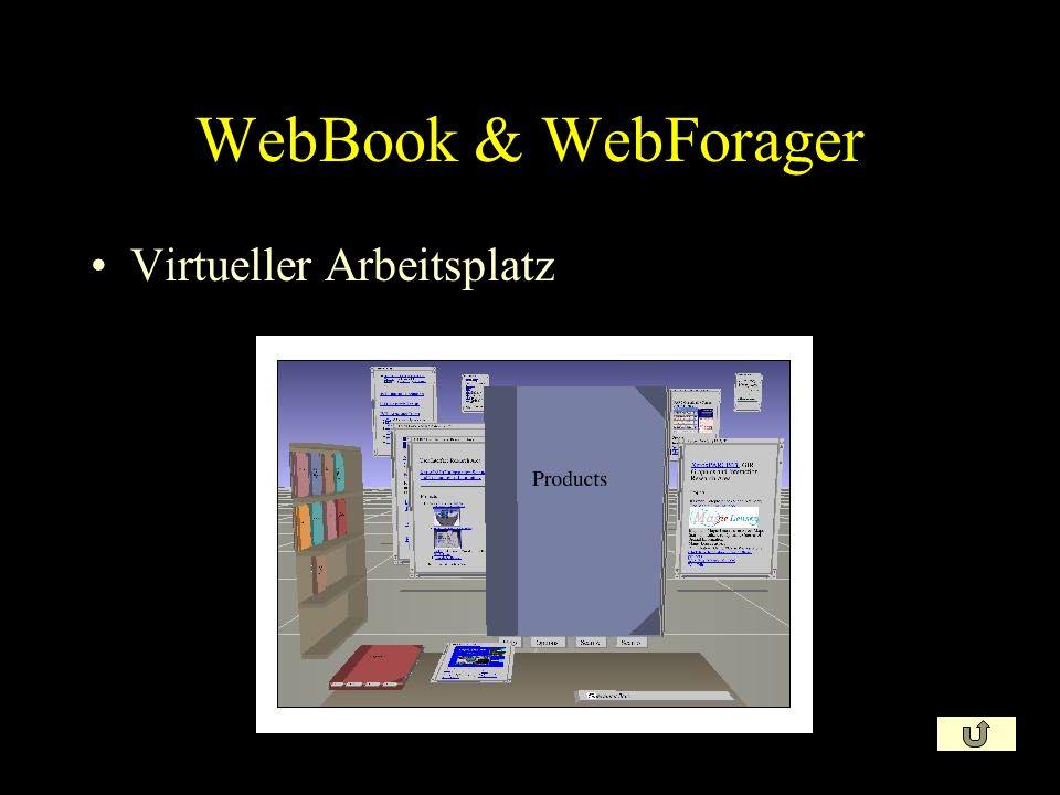 WebBook & WebForager Virtueller Arbeitsplatz