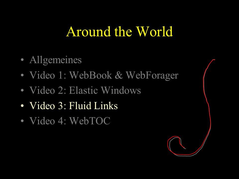 WebBook & WebForager Document-Lens