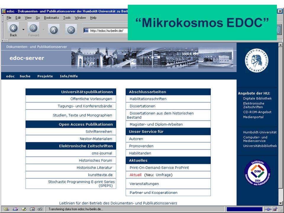 Mikrokosmos EDOC
