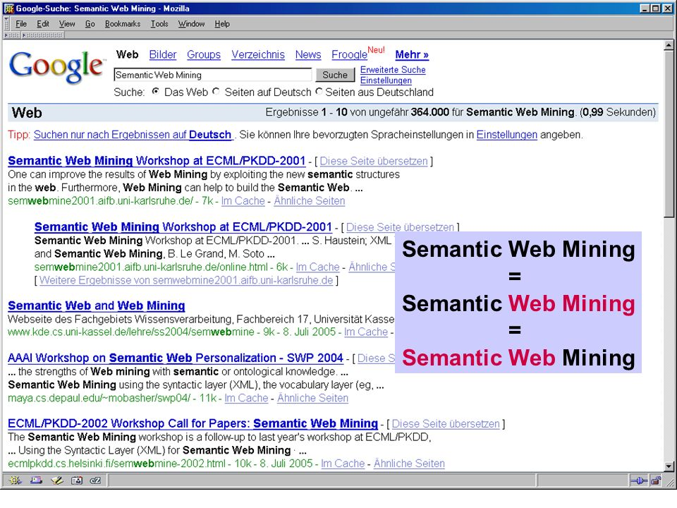 ... Semantic Web Mining