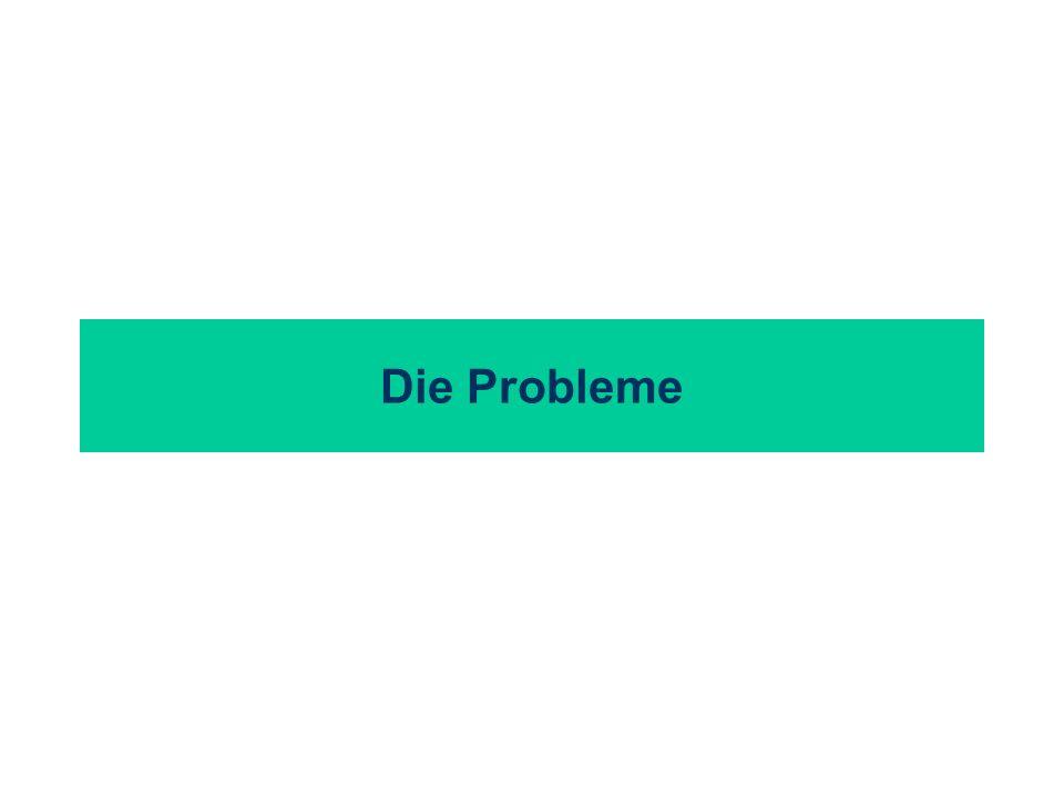 Die Probleme