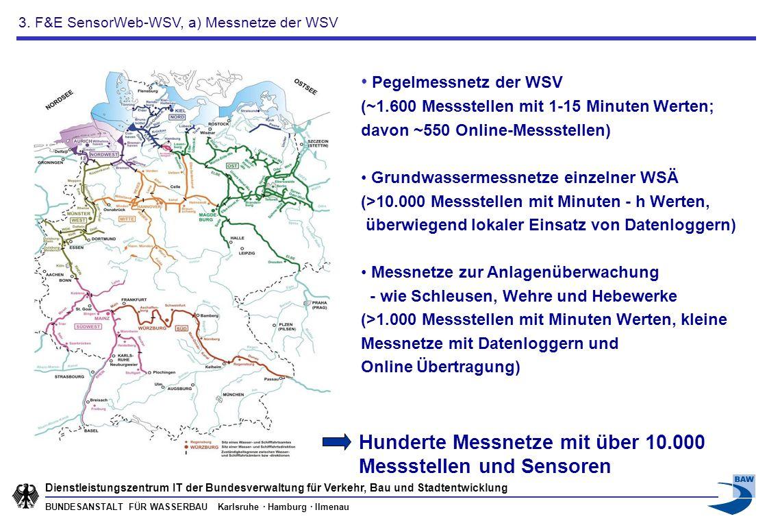 BUNDESANSTALT FÜR WASSERBAU Karlsruhe · Hamburg · Ilmenau Dienstleistungszentrum IT der Bundesverwaltung für Verkehr, Bau und Stadtentwicklung Pegelme