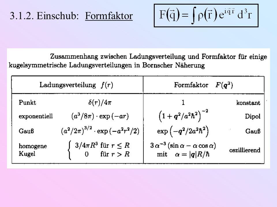Vorhersage zum Kernspin von : 14 Protonen (Spin ½) 7 Elektronen (Spin ½) Beobachtung (N 2 -Molekül): J ist ganzzahlig enthält eine gerade Zahl von Fermionen d)Entdeckung des Neutrons (Chadwick, 1932): m n m p Q n = 0 Spin-½ Erkenntnis: Kern Z Protonen & (A Z) Neutronen Erklärung des -Zerfall: ( später ) Erklärung des Spins von : gerade Anzahl von Spin-½-Teilchen
