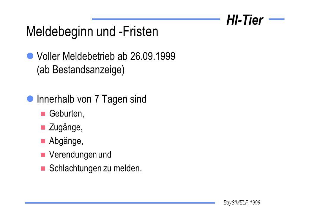 BayStMELF, 1999 HI-Tier Kompetenz-DB Hilfe rechtl.