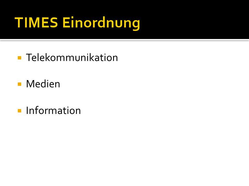 Telekommunikation Medien Information