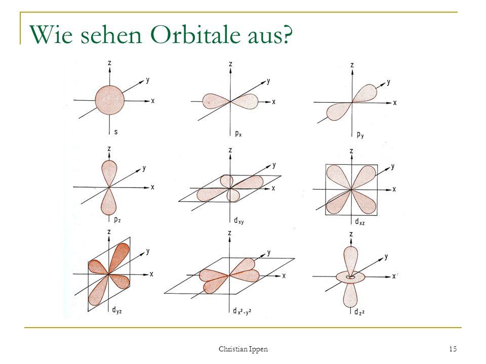 Christian Ippen 15 Wie sehen Orbitale aus?