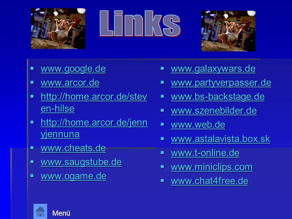 www.google.de www.google.de www.google.de www.arcor.de www.arcor.de www.arcor.de http://home.arcor.de/stev en-hilse http://home.arcor.de/stev en-hilse