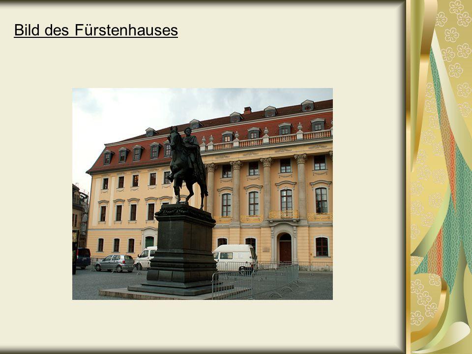 Bild des Fürstenhauses
