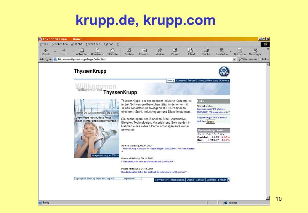 10 krupp.de, krupp.com