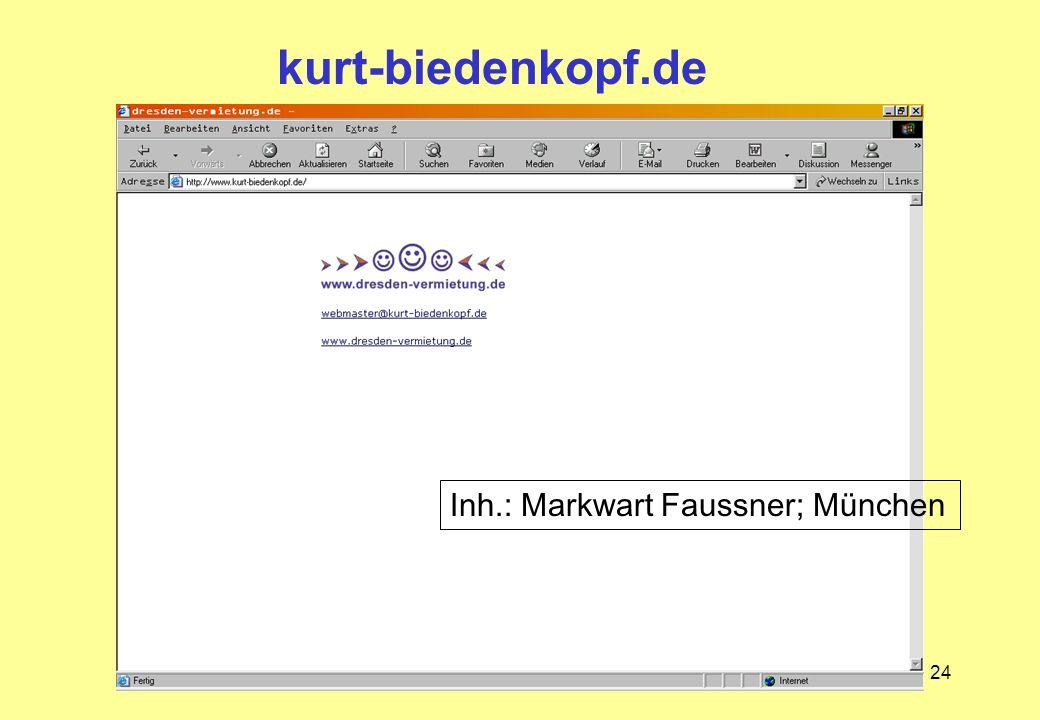 24 kurt-biedenkopf.de Inh.: Markwart Faussner; München