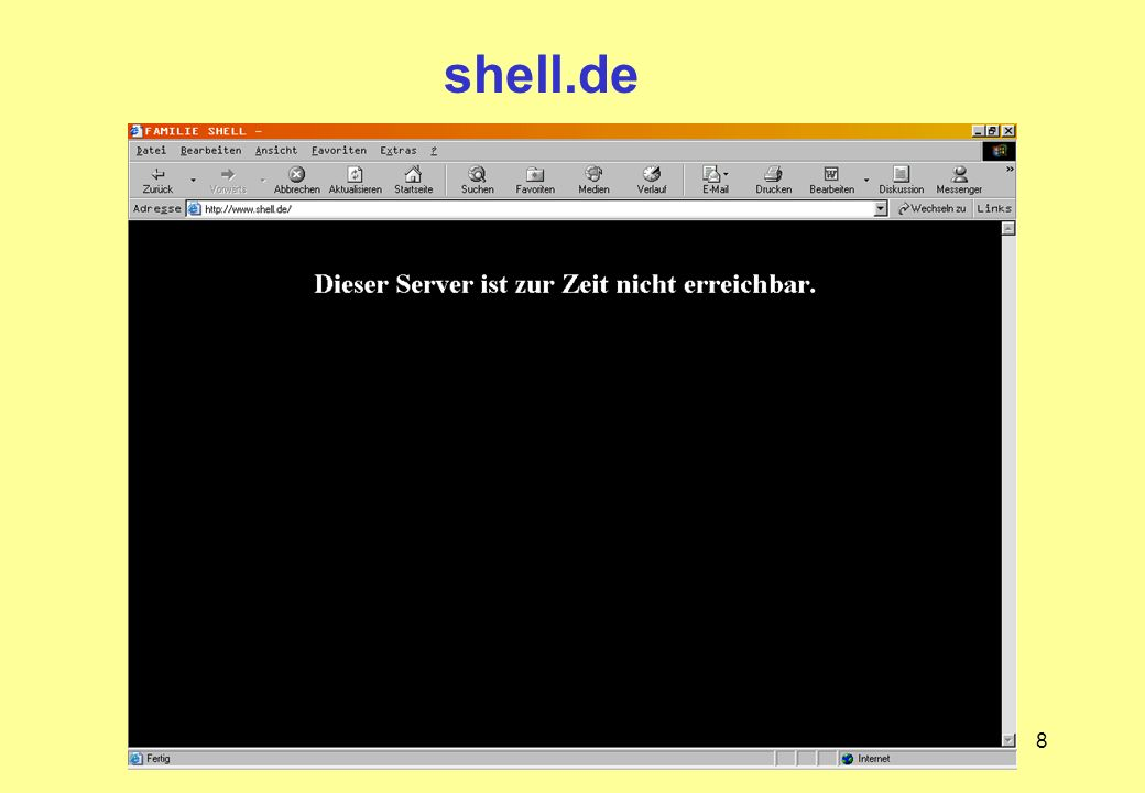 8 shell.de