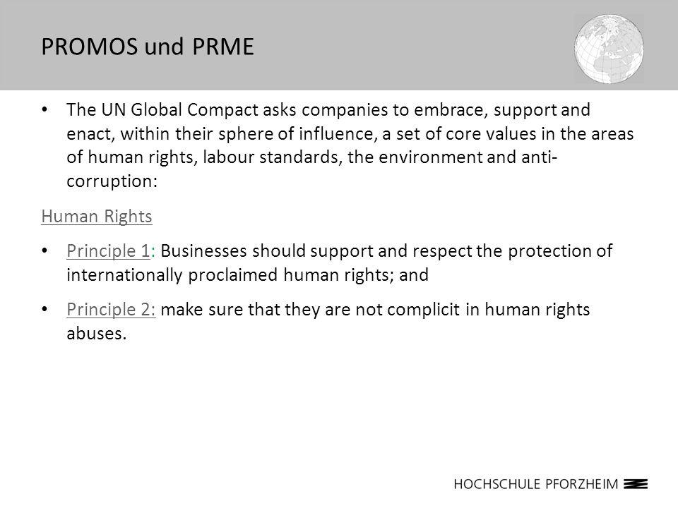 Verantwortlichkeiten für nachhaltige Globalisierung