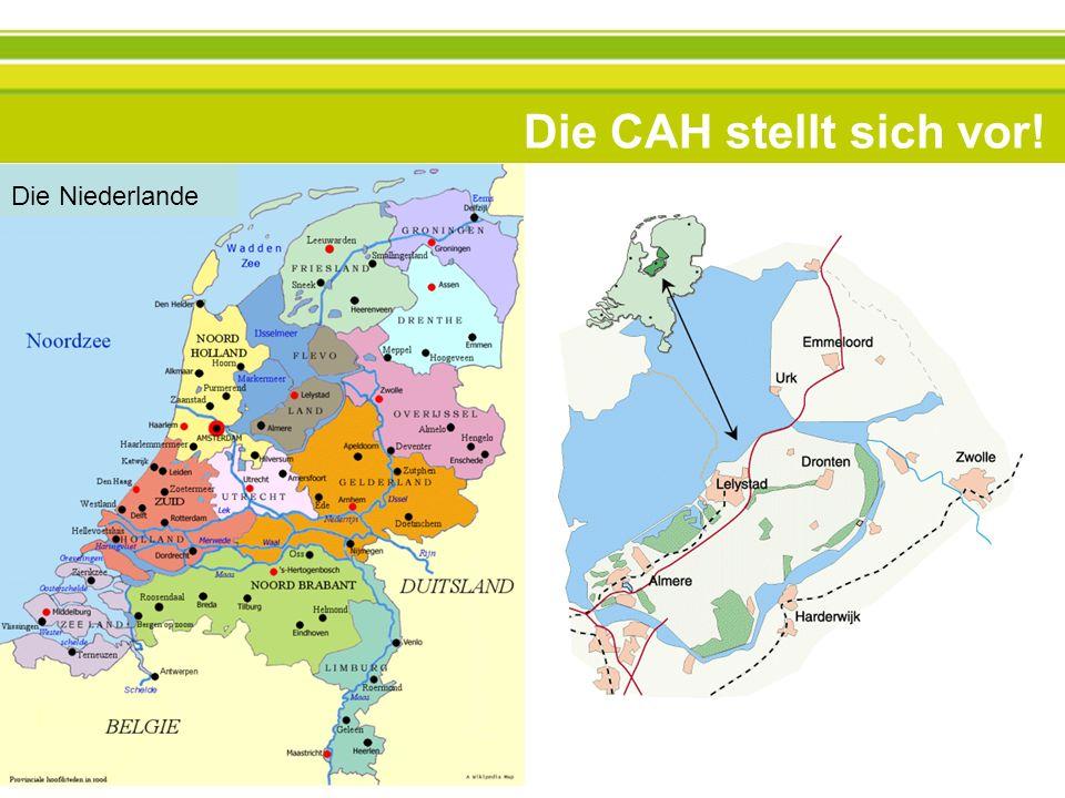 Die CAH stellt sich vor! Die Niederlande