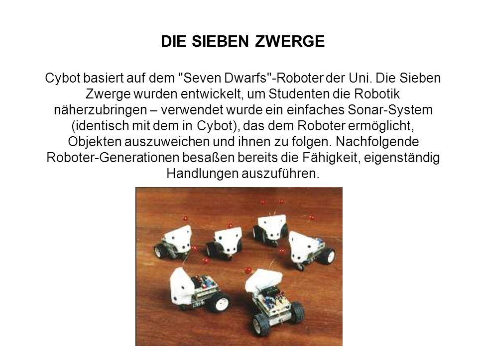 DIE SIEBEN ZWERGE Cybot basiert auf dem Seven Dwarfs -Roboter der Uni.