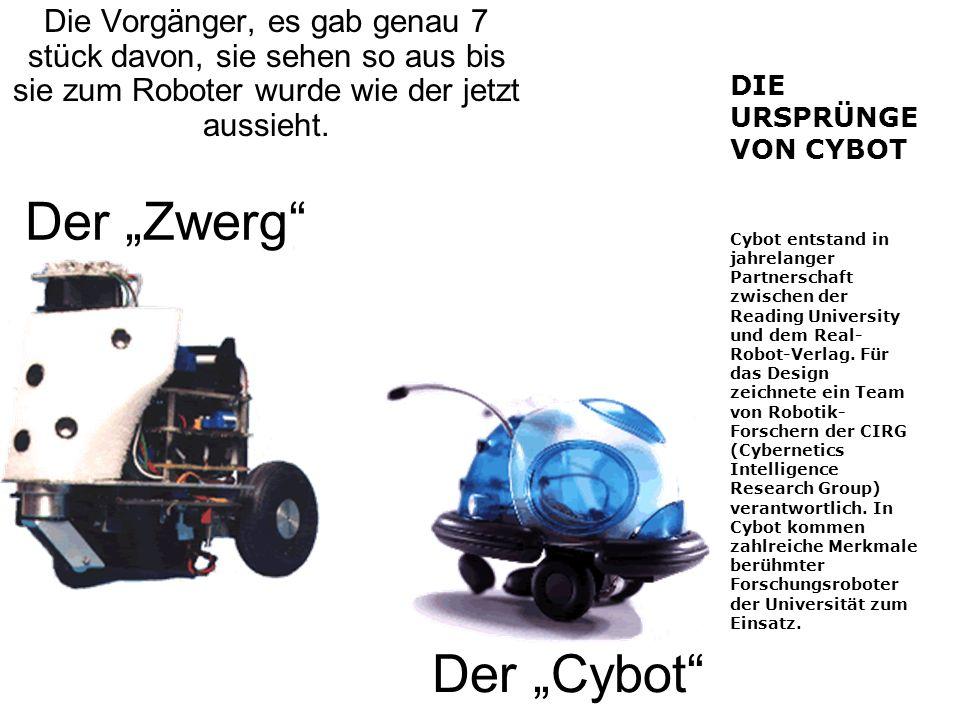 Die Vorgänger, es gab genau 7 stück davon, sie sehen so aus bis sie zum Roboter wurde wie der jetzt aussieht.