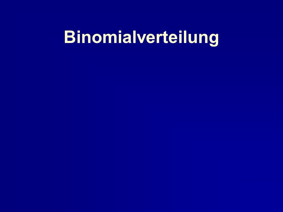Binomialverteilung