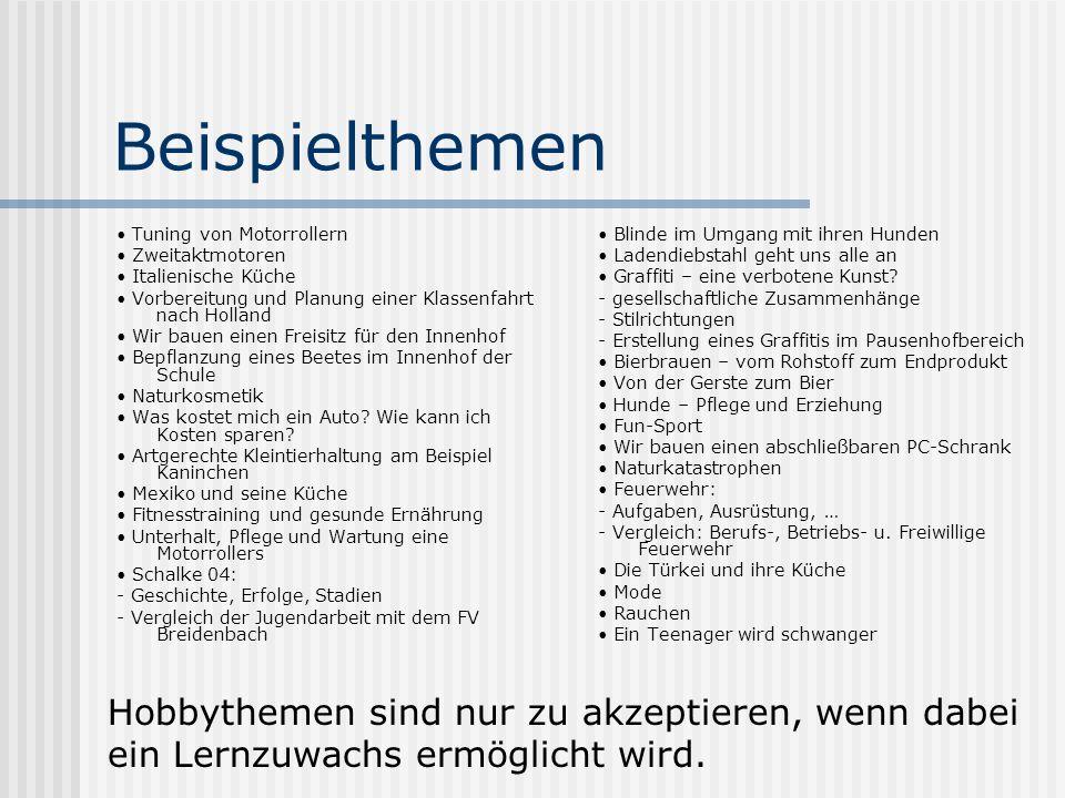 Schriftliche Prüfungen Landeseinheitliche Arbeiten 13.5.