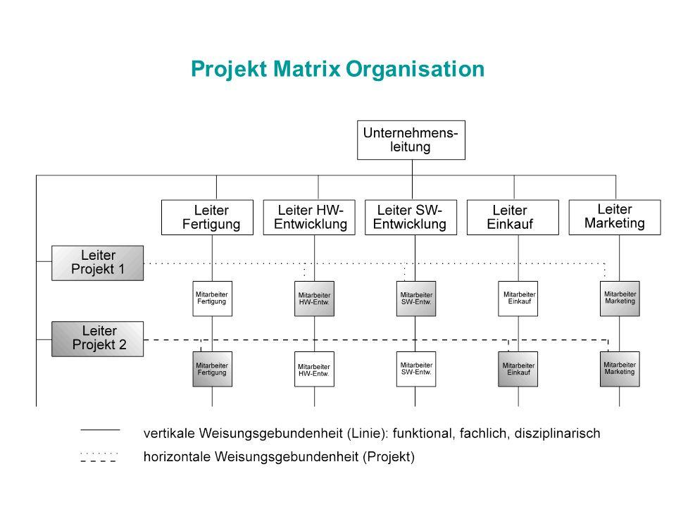 Projekt Matrix Organisation