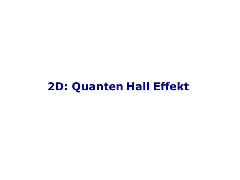 2D: Quanten Hall Effekt