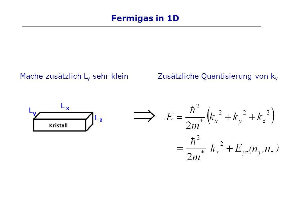 Halbleiter: Heterostrukturen Gitterkonstante a darf nicht zu stark variieren Benutze HL, die im Diagramm übereinander liegen.