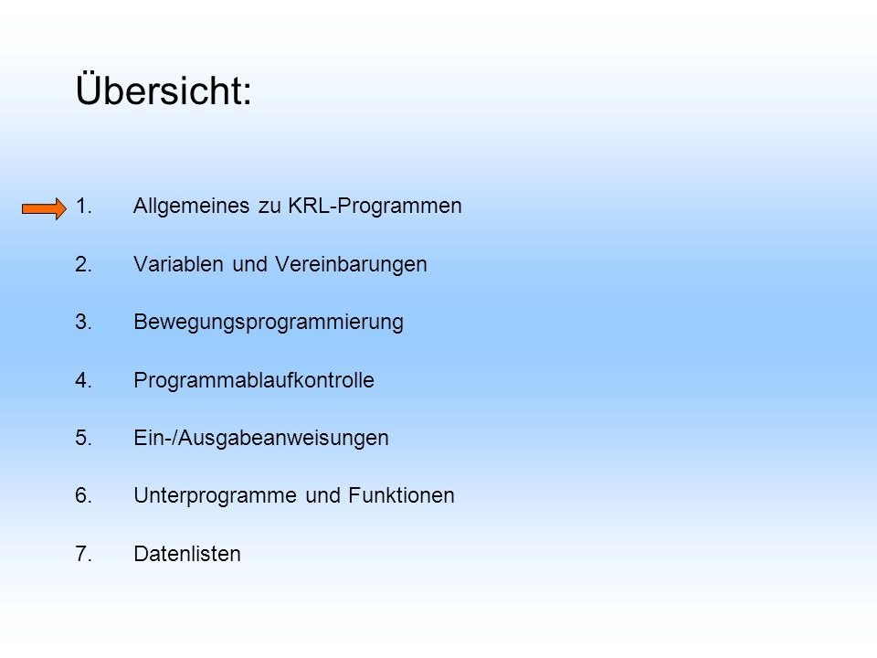 4.1 Programmverzweigungen Sprunganweisungen (GOTO) Bedingte Verzweigung (IF) Verteiler (SWITCH) Code Bsp.: GOTO MARKE...