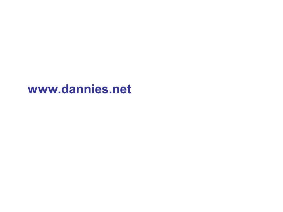 Weitere Informationen alle Dokumente, ppts und zusätzliches Material zum runter laden unter www.dannies.net