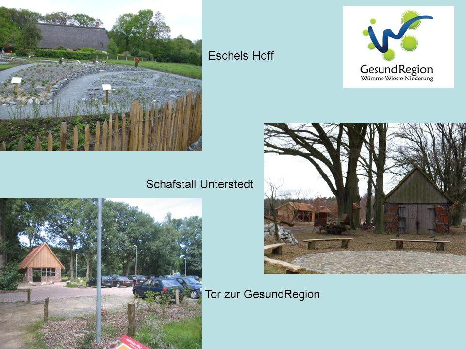 Eschels Hoff Tor zur GesundRegion Schafstall Unterstedt
