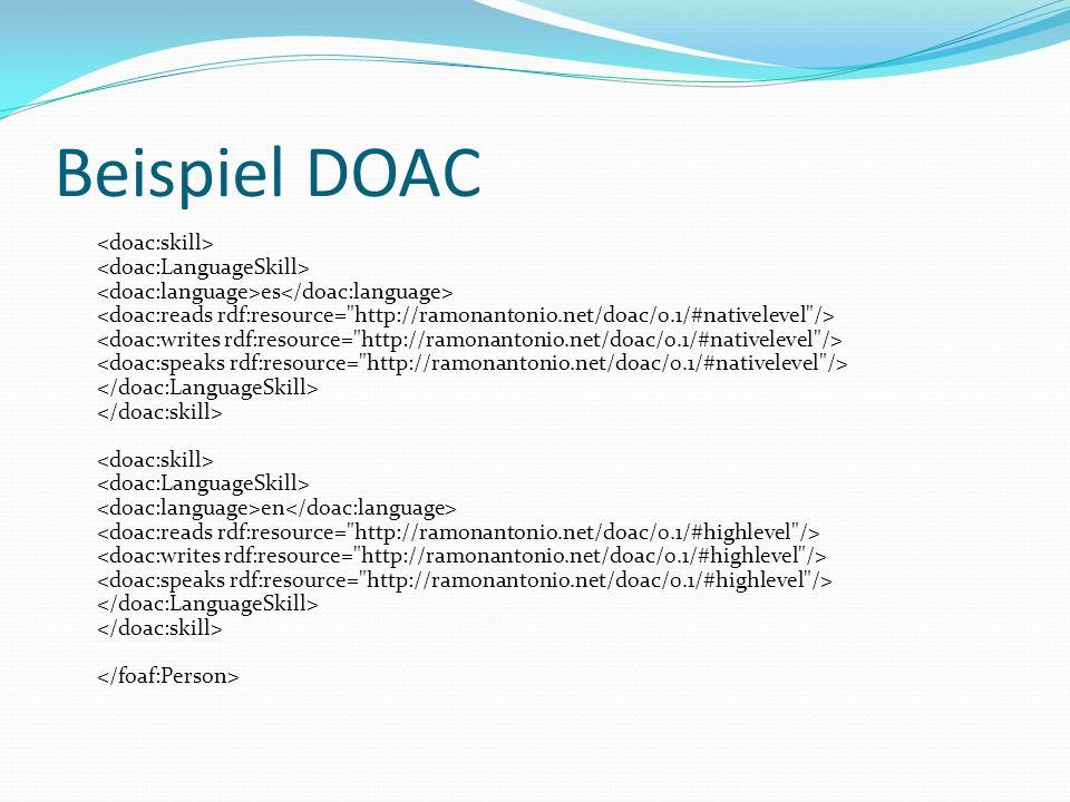 Beispiel DOAC es en