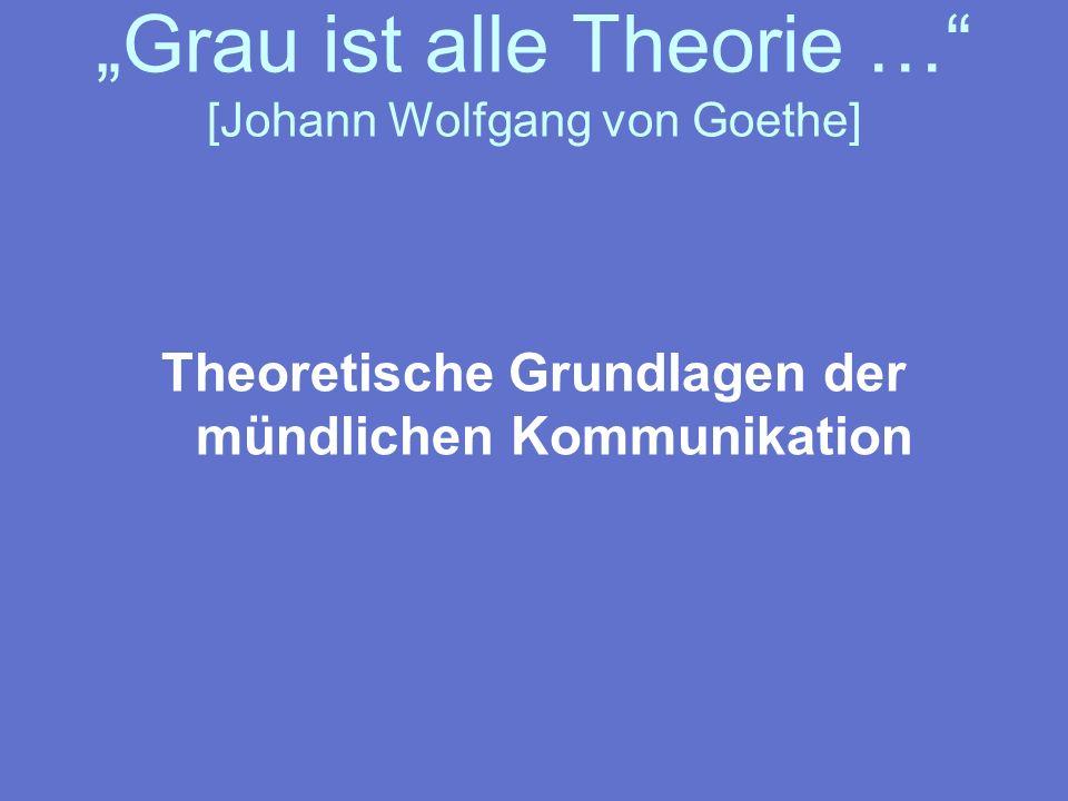 Das Organon-Modell [nach Karl Bühler] organon [griech.] = Werkzeug, Methode Ausdruck (einer Person) Darstellung (eines Themas) Appell (an eine Person) = Grundfunktionen von Kommunikation