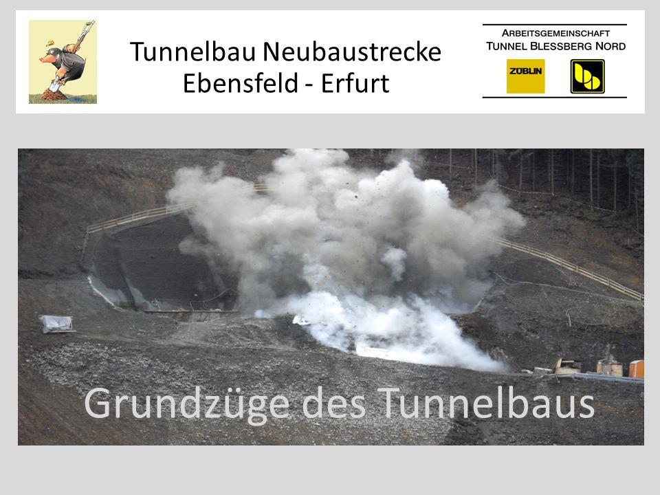 Grundzüge des Tunnelbaus Tunnelbau Neubaustrecke Ebensfeld - Erfurt