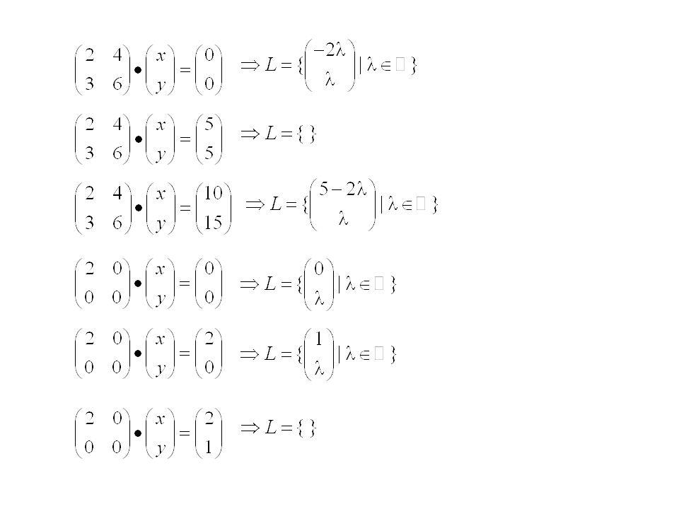 Es sei C' eine beliebige und C die bekannte Lösung, dann ist A (C' - C) = A C' - A C = B - B = 0 Also ist (C' - C) = C* C' = C + C* Jedes homogene Gle